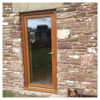 Replace Window with Door in Converted Barn