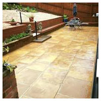 Large Patio & Chippings
