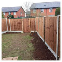Replacement Panel Fencing